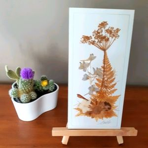 2/25$ vintage dry floral wall art